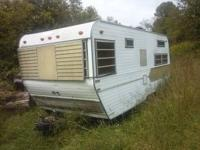 I have for sale a 20 foot camper with a good title. Has