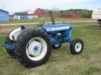 I have for sale A Ford 4000 Farm tractor. This Tractor