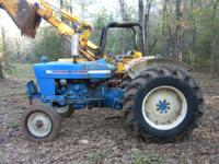 1972 Ford 4000, Diesel, Working PTO, 1 Aux Hydro Port,