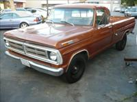 THIS IS A 1972 F250 LONGBED, 3/4 TON, WITH A MANUAL