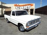 1972 Ford F100 Shortbed Pickup - 302 V8, automatic,