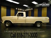 This 1972 Ford F100 is a sweet show and drive truck in