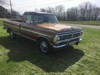 1972 Ford F100 Pickup (NY) - $17,500 77,000 original