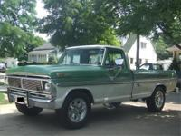 Rare1972 Ford F-250Ranger XLT Camper SeriesThere are