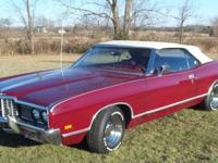 1972 Ford LTD convertible. It has a 400 ci engine with
