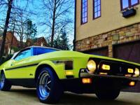 1972 Ford Mustang 351C Bright Lime 66K Miles Very