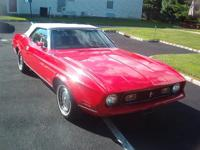 MY BEAUTIFUL 1972 FORD MUSTANG HAS BEEN CARED FOR BY