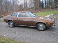 1972 Ford Pinto Runabout, 2.0L, 4-speed, front disc