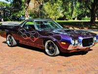 1972 ford ranchero GT completely reconditioned,351 CID