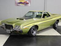 Stk#072 1972 Ford Ranchero GT This is an original