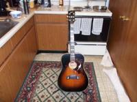 Due to medical issues, I must sell my 1972 GIBSON Dove