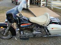 1972 Harley Davidson AMF FLH 1200cc w/Full Chrome Trim