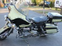 Selling my 1972 FLH Harley Davidson. This bike is