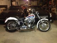 1972 Harley Davidson Super Glide.The original color is