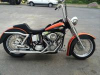 1972 FLH brand new harley everything over 35000