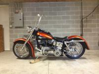Amazing one of a kind 1972 FLH Bike has best of