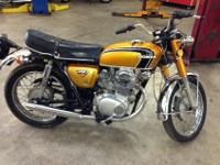 A REALLY NICE BIKE , RUNS AND SHIFTS NICELY. PAINT AND