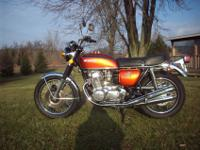 Here is a beautiful original bike, It runs great,
