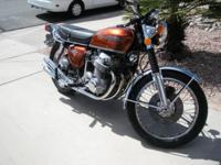 Offered for sale is this Classic 1972 Honda CB750 K2