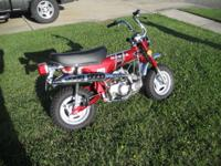 THIS LISTING IS FOR A 1972 HONDA CT 70 H MODEL, THIS IS