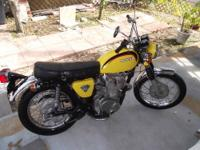 (ITEM # 450)-------1972 HONDA CL 450 SCRAMBLER ,ALL