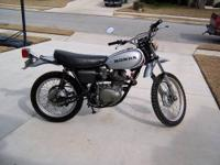 I have a vintage Honda XL250 enduro motorcycle that is