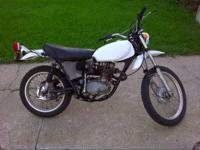 I am selling my 1972 Honda XL250. Has just over 4000