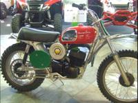 1972 Husqvarna 250 WR Restored Beauty This is a