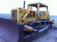 1972 International TD-25C Dozer with ATECO Ripper. The