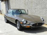 This 1972 Jaguar E-Type 2dr 2+2 Coupe . It is equipped