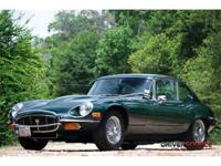 This 1972 Jaguar E-Type 2dr 2+2 . It is equipped with a
