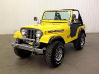 1972 Jeep CJ5 350 v8 Automatic, Only 4k miles since