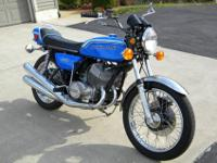 1972 Kawasaki h2 750 I purchased this bike from the