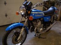 Only 2527 original miles!! The bike is very original