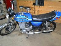 1972 kawasaki H2 750 triple. Bike is in Excellent
