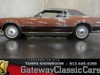 Stock #378-TPA 1972 Lincoln Mark IV Coupe $14,995