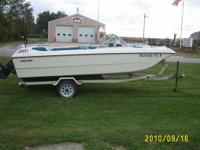 Description 1972 Mark Twain 17 foot, has a 4 cyl, 140
