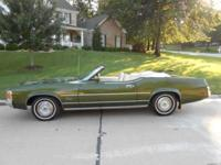 1972 Mercury Cougar Convertible ..One Owner Car