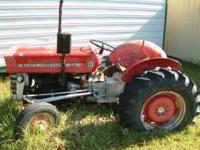 For sale a 1972 MF 135 tractor (Diesel) Tractor is not