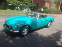 1972 MGB for sale. The graphics will reveal you how
