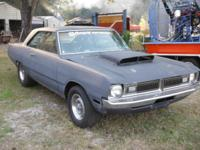 1973 Dodge Dart street ROLLER there is no engine or