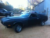 I have a 1972 Ford Mustang Mach 1 project for sale or