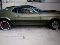 Selling 2 classic mustang 1972 & 1973 72 is automatic