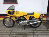 1972 Norton 750 Commando Matching numbers fitted with