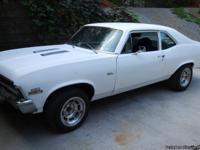 1972 Nova SS,front disc brakes,entire front and rear