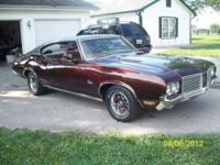 1972 Olds Cutlass In Exceptional Showroom Condition 350