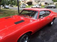Hi. I have up for sale my 1972 Oldsmobile Cutlass S