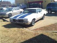 Classic Olds with only 62,000 miles. Rare automatic