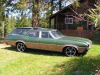 1972 Oldsmobile Vista Cruiser This American classic