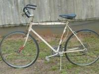 "Nice, Original Otasco ""Flying O"" 10 speed bike White,"